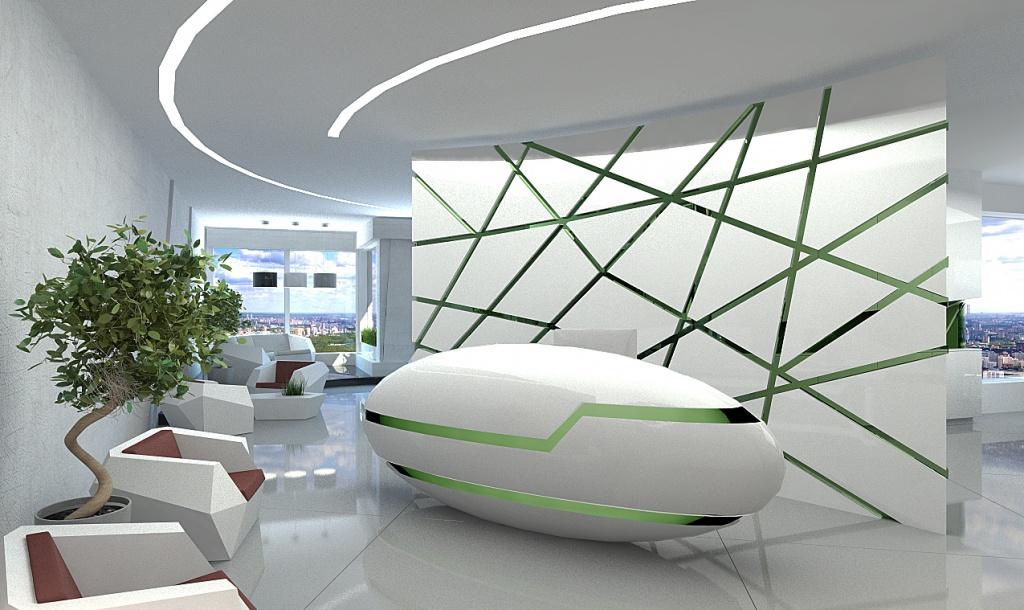 Концепт офисного пространства INGRIA TOWER от компании СЭР